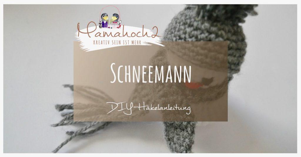 Produktbild Schneemann häkeln DIY