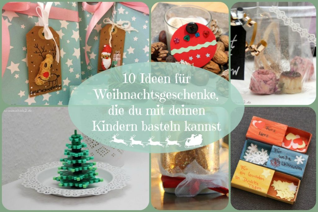10 ideen f r weihnachtsgeschenke die du mit deinen kindern basteln kannst mamahoch2. Black Bedroom Furniture Sets. Home Design Ideas