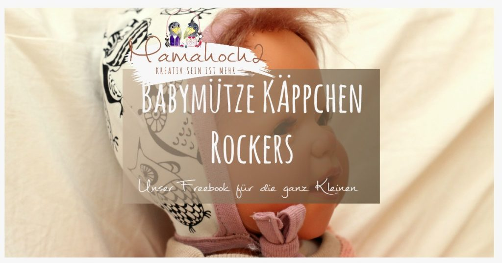 käppchen rockers freebook babymütze schnittmuster pattern