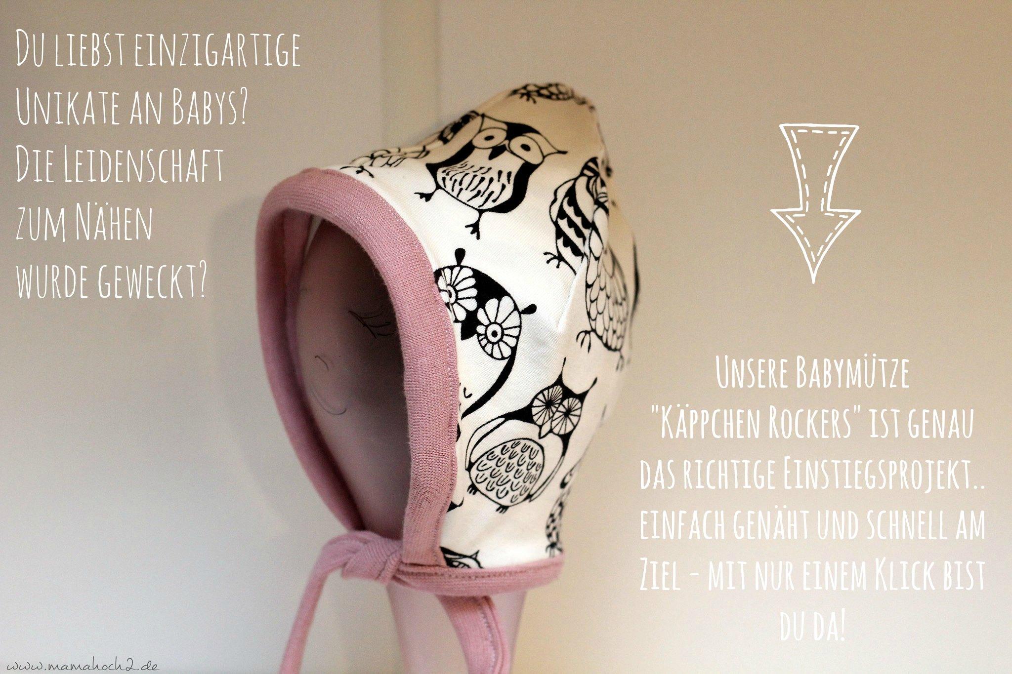 nähen für babys babymütze