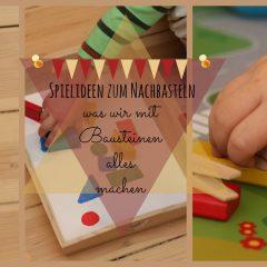 4 Montessori-inspirierte Spielideen: Was wir mit Bausteinen alles machen und lernen