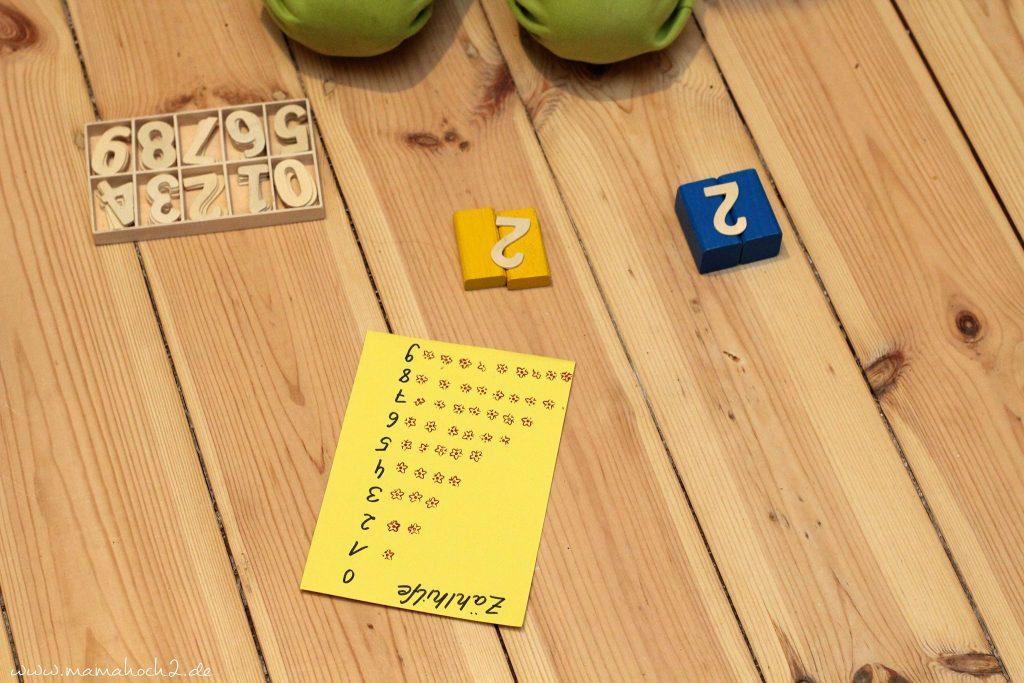 zahlen lernen und rechnen lernen montessori spielidee vorschüler (3)