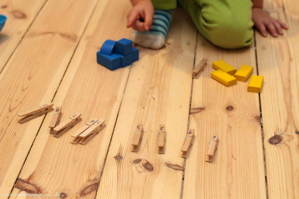 zahlen lernen und rechnen lernen montessori spielidee vorschüler (5)