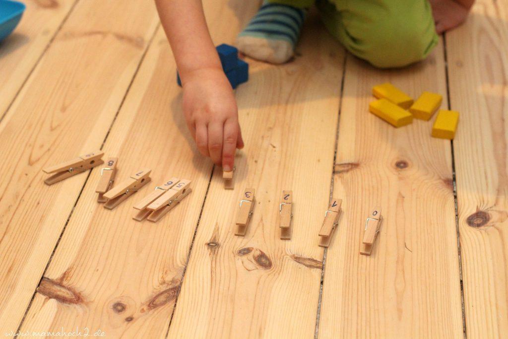 zahlen lernen und rechnen lernen montessori spielidee vorschüler (6)