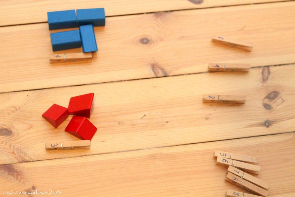 zahlen lernen und rechnen lernen montessori spielidee vorschüler (7)