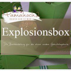 DIY – Bastelanleitung für eine Explosionsbox