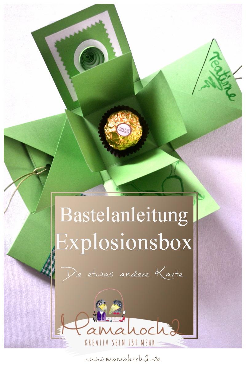 Diy Bastelanleitung Fur Eine Explosionsbox Mamahoch2