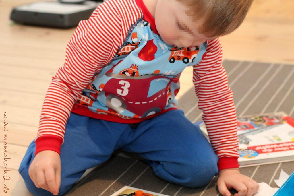 Feuerwehr Kindergeburtstag Geburtstagsshirt nähen