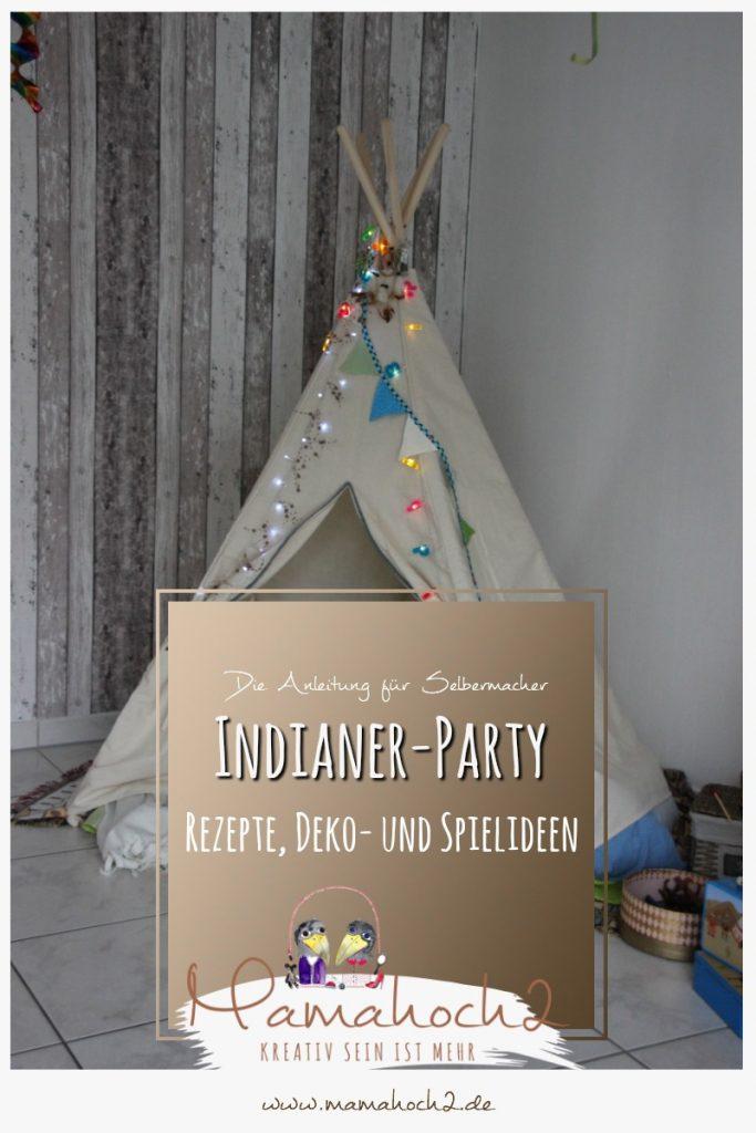 Indianer geburtstagsparty rezepte spielideen deko Geburtstagsparty deko