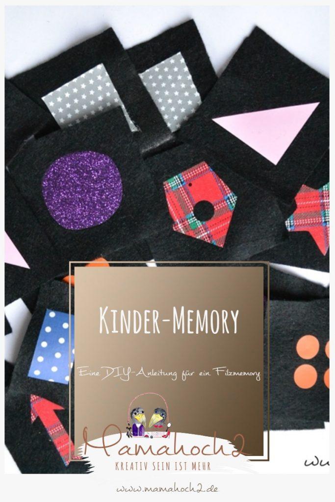 Kinder-Memory, eine DIY-Anleitung für ein Filz-Memory