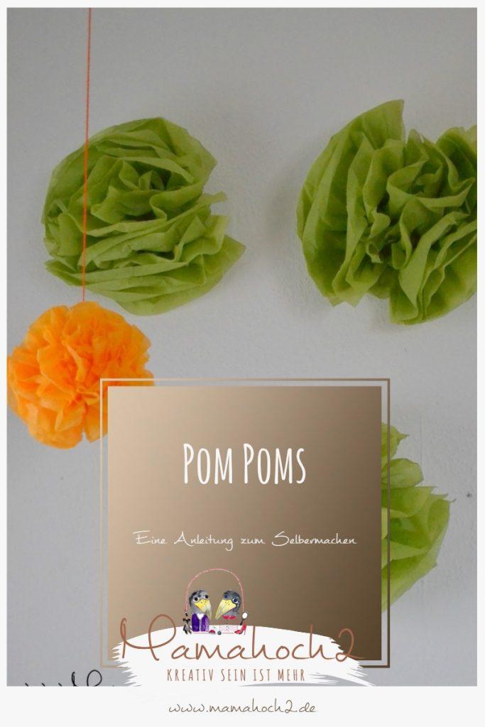 Pinterest Pom Poms DIY
