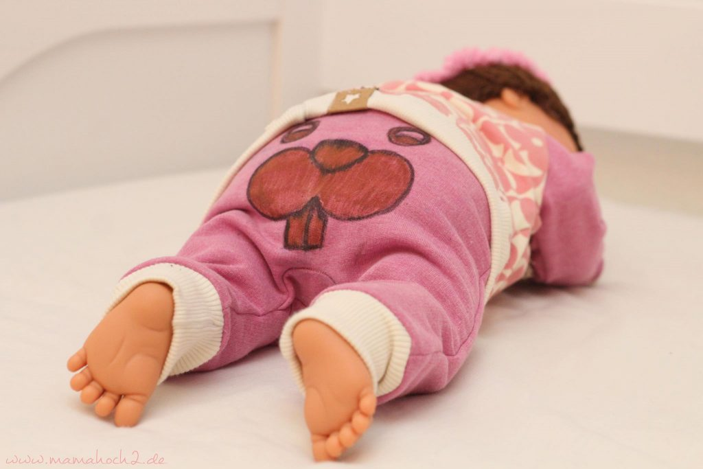 babyset fancywork babys first year textilmalen nähen für babys (4)