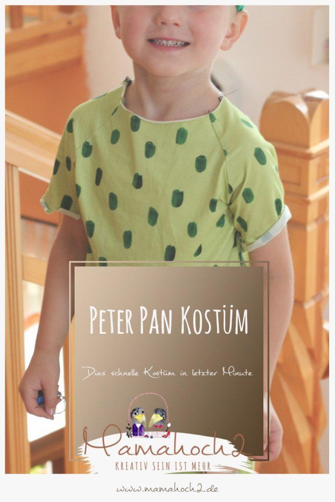 schnelles Faschingskostüm selbermachen: Näh dir ein Peter Pan Kostüm ...