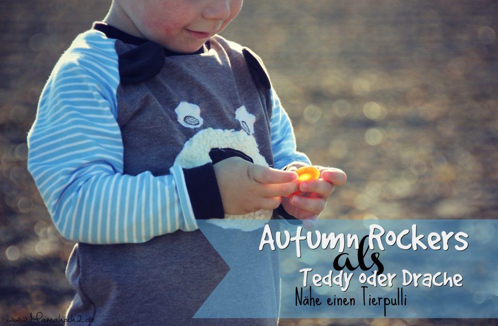 mamahoch2 tier pulli nähen diy autumn rockers
