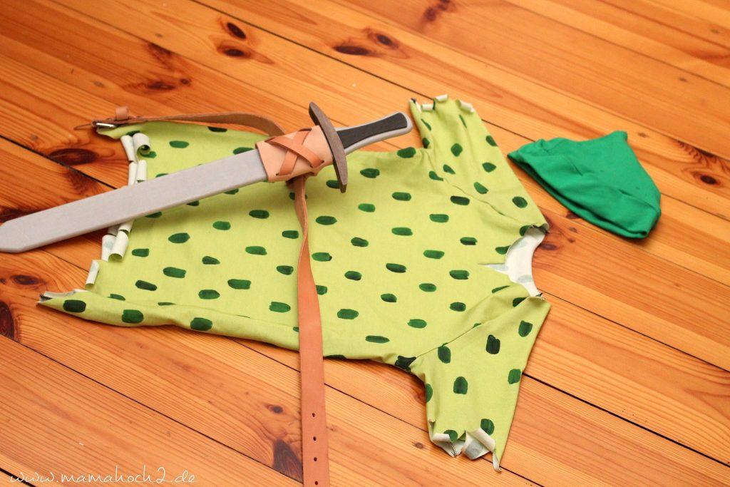 Schnelles Faschingskostum Selbermachen Nah Dir Ein Peter Pan Kostum