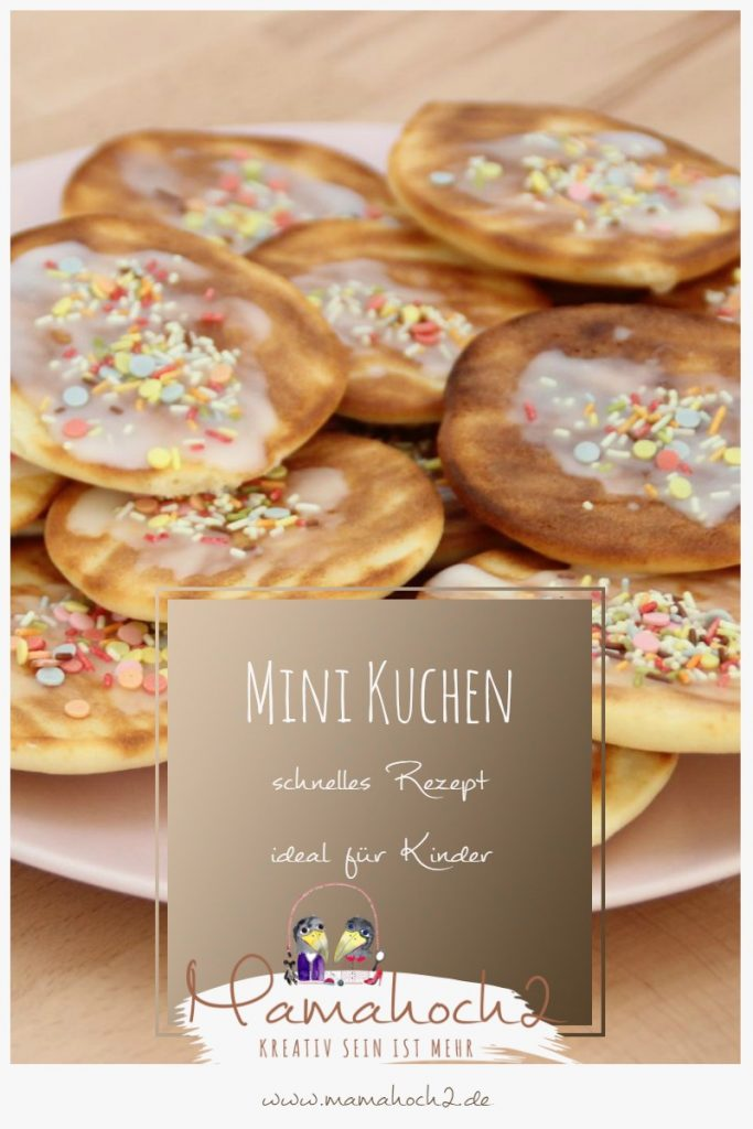 Mini Kuchen Amerikaner backen Rezept Kinder