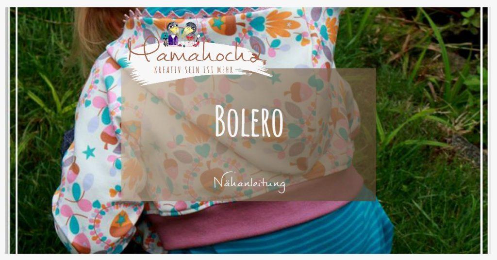 Nähanleitung: Bolero Jäckchen ⋆ Mamahoch2