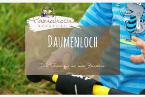 Nähanleitung Daumenloch Bündchen Autumn Rockers