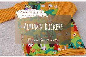 Nähanleitung Freebook kostenloses Schnittmuster Autumn Rockers