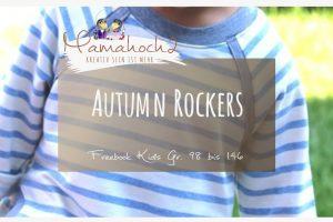 Nähanleitung Freebook kostenloses Schnittmuster Autumn Rockers Kids
