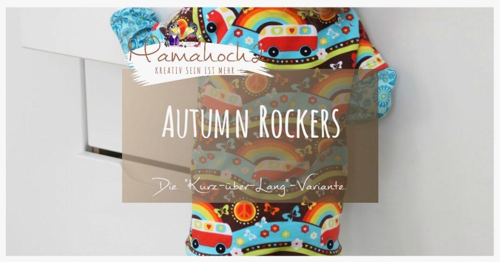 Nähanleitung Freebook kostenloses Schnittmuster Autumn Rockers Kurz über Lang