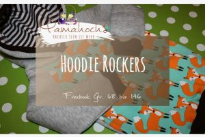 Nähanleitung Freebook kostenloses Schnittmuster Hoodie Rockers