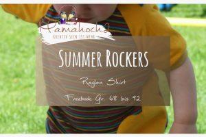 Nähanleitung Freebook kostenloses Schnittmuster Summer Rockers