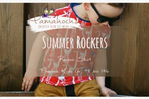 Nähanleitung Freebook kostenloses Schnittmuster Summer Rockers Kids