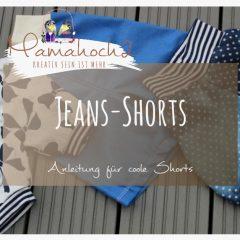 Shorts aus Jeans