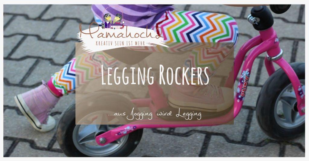 Nähanleitung Legging Rockers