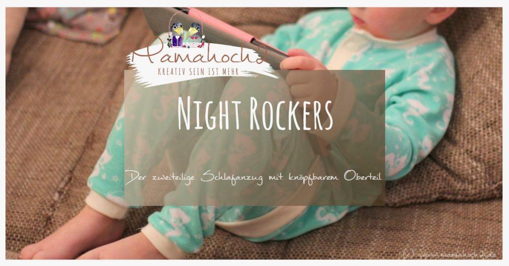 Night Rockers - Nähanleitung Schlafanzug ⋆ Mamahoch2