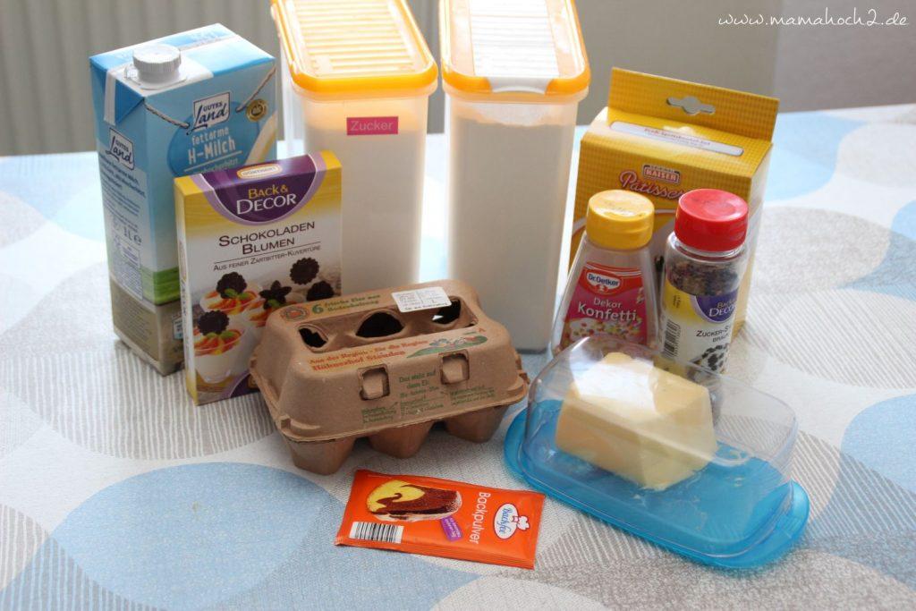 Rezept Mini Kuchen backen Kindergeburtstag (1)