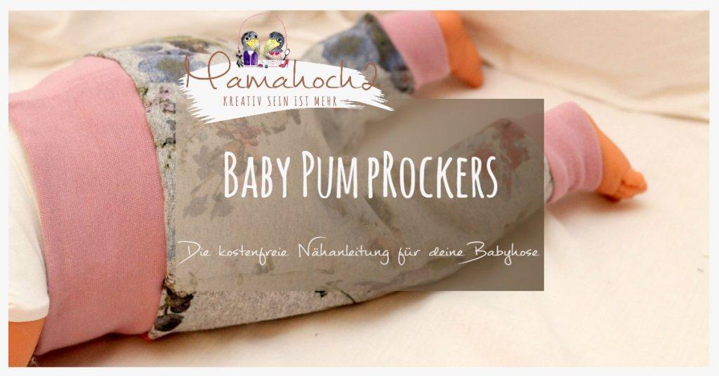 mehrere farben rationelle Konstruktion fairer Preis Nähanleitung für eine Babyhose: Unser Freebook Babypump ...