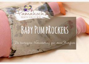 Nähanleitung für eine Babyhose: Unser Freebook Babypump Rockers