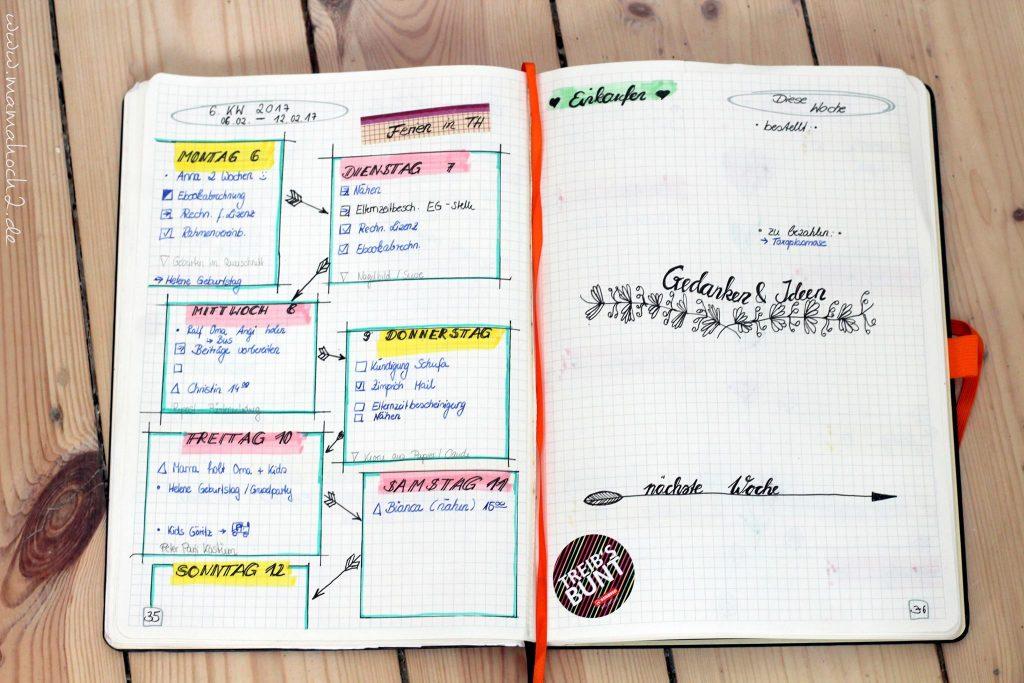 bullet journal aufbau anfang einstieg bujo terminplaner scrapbook (2)