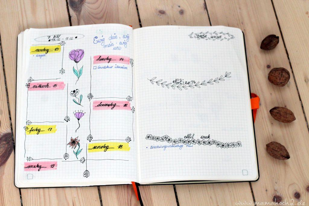 bullet journal aufbau anfang einstieg bujo terminplaner scrapbook (3)