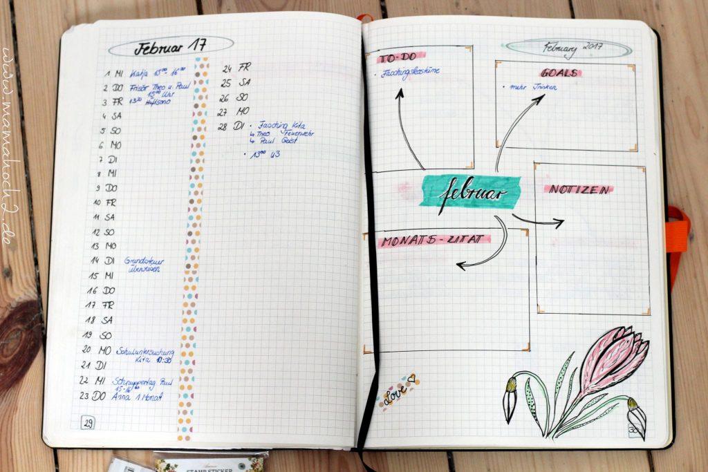 bullet journal aufbau anfang einstieg bujo terminplaner scrapbook (4)
