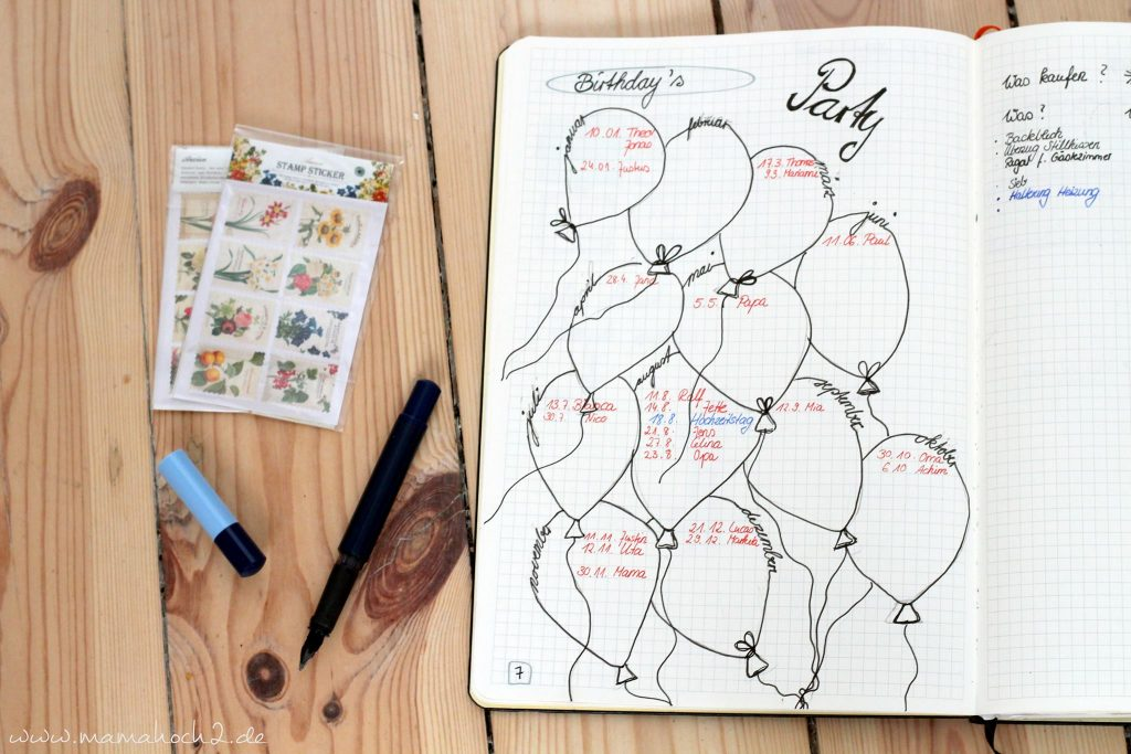 bullet journal aufbau anfang einstieg bujo terminplaner scrapbook (6)