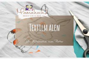 Anleitung Tutorial Textilmalen