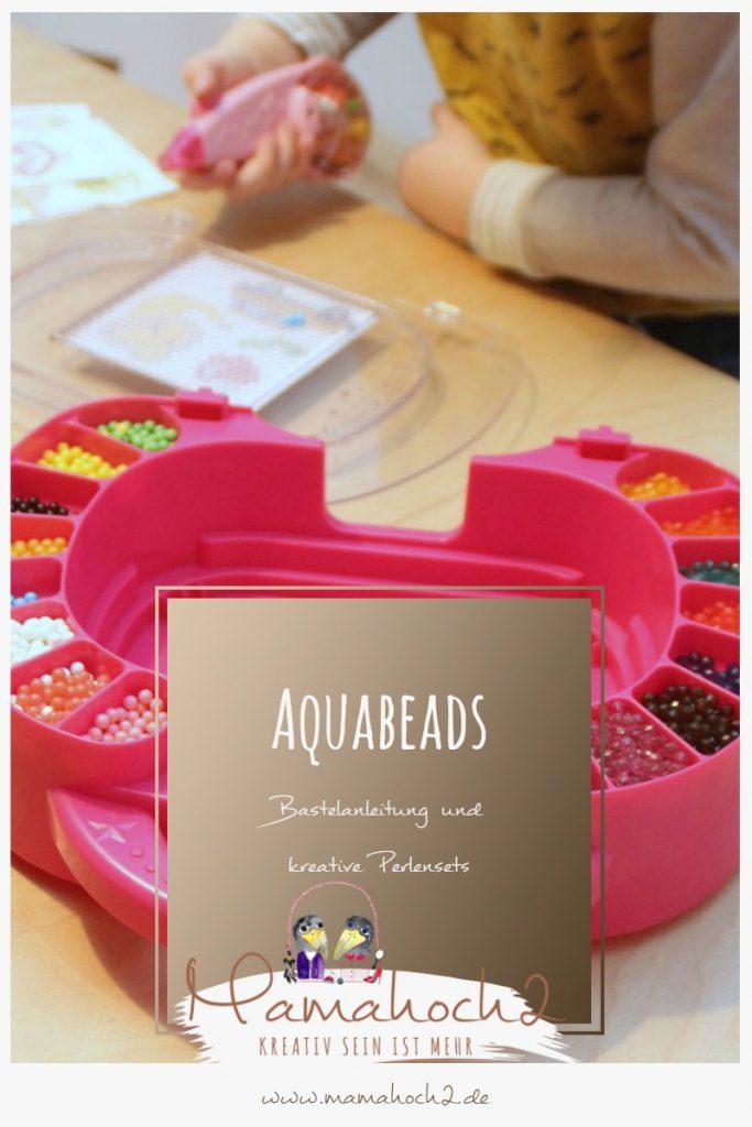 Aquabeads Bastelanleitung kreative Perlensets DIY für Kinder