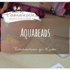 für Ostern basteln mit Aquabeads