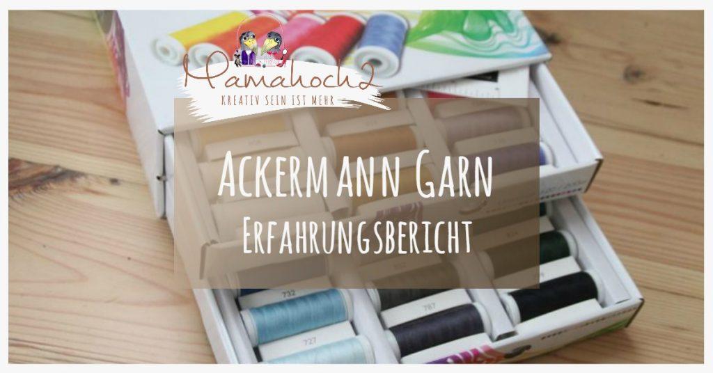 Bild Ackermann Garn Erfahrungsbericht