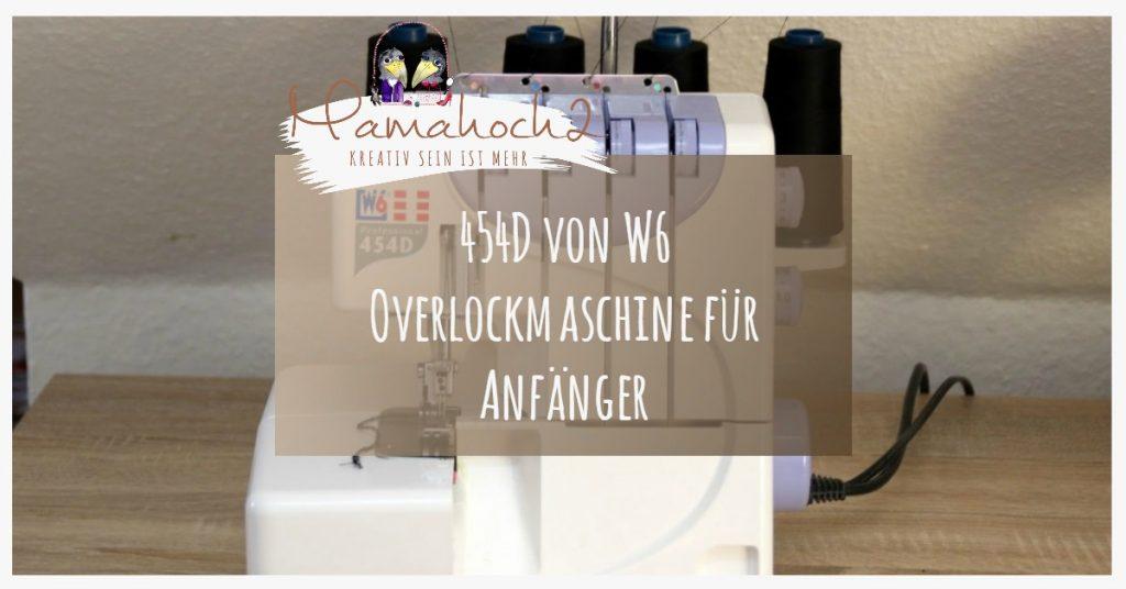 Bild Overlockmaschine 454D von W6
