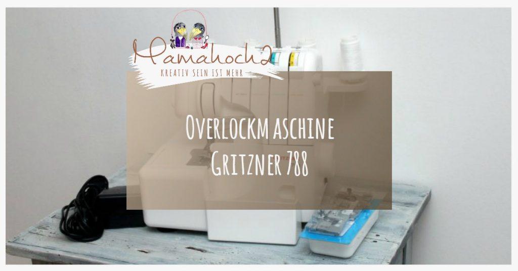 Bild Overlockmaschine Gritzner 788