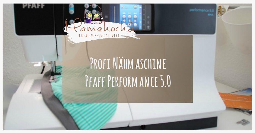 Bild Profi Nähmaschine Pfaff Performance 5.0
