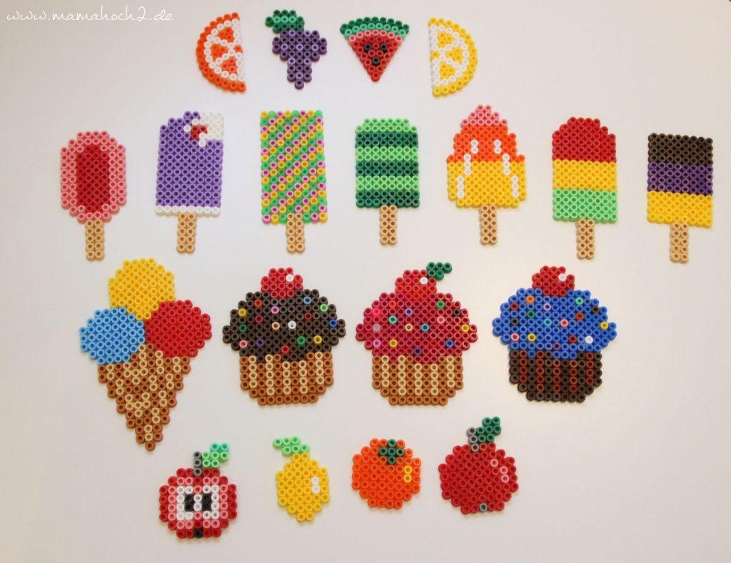 DIY Bastelanleitung Süßigkeiten Kinderküche Kaufmannsladen aus Bügelperlen (10)