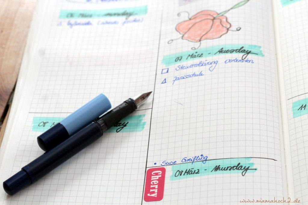 Füller mit der Hand schreiben Lettering