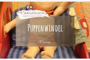 Freebook Nähanleitung Puppenwindel
