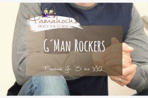 Freebook Nähanleitung kostenloses Schnittmuster G´man Rockers