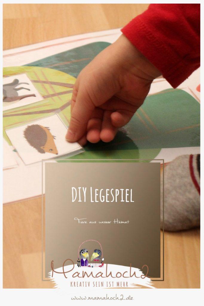 Legekarten Tiere Zuordnung Säugetiere Bauernhoftiere zu Hause Lernspiel printable Montessori